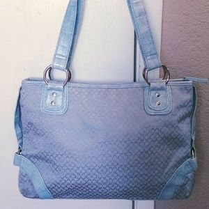 Icing by Clarie's Blue Woman's Tote